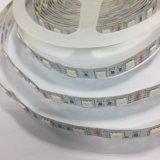 5050 coperchio di plastica dell'indicatore luminoso 72LEDs/M della corda del LED per la striscia del LED