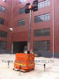 Diesel LED Industrial trabajo suburbio de la torre de iluminación de emergencia