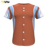 100% poliéster Striped Jersey uniforme de béisbol