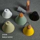 Macaron creativos modernos candelabros única cabeza lámpara colgante de comedor