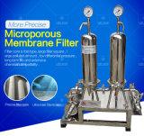 Filtro microporoso sanitario da Membrance dell'acciaio inossidabile per la bevanda