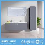 A pintura de alto brilho LED mais espaço de armazenamento multifuncional armário de casa de banho de luxo HS-Q1121-1200