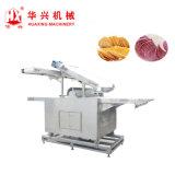 複雑なポテトチップの生産ライン(Pringlesはクラッカー機械を欠く)