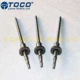 정밀도 CNC 기계를 위한 C5/C7/C10에 의하여 구르는 스레드 공 나사 Sfu1605