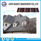 容易な構築の熱抵抗の石の上塗を施してある金属のミラノの屋根瓦
