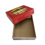 Caixa de papel de cor personalizada com tampa
