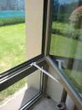 Akp50-Aw01 내부 오프닝 알루미늄 여닫이 창 Windows