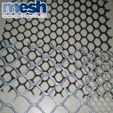Malla de alambre plano de plástico de la fábrica China para la venta