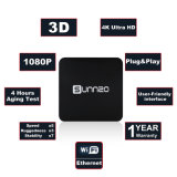 Sunnzo G8 mini androider intelligenter Fernsehapparat-Kasten mit Amlogic S912 2GB RAM/16GB ROM-Support 4K 1080P, 2.4GHz WiFi