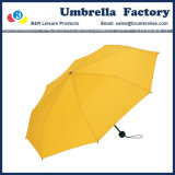 """Pagina gialla piegante 21 del metallo del tessuto di seta naturale dell'ombrello di qualità """""""