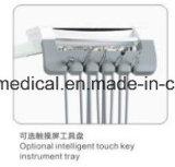 センサーランプの医療機器(slv-218)が付いている病院の調節可能な歯科椅子