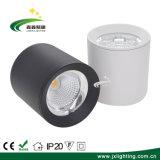 La figura rotonda il soffitto montato superficie della PANNOCCHIA LED di 10watt /20W 2.5  giù si illumina