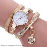As mulheres de moda casual Relógios de quartzo de couro Relógio Bracelete assistir