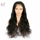 Hot la beauté des cheveux haut de la soie vierge 180% Densité Full Lace Wigs vague du corps
