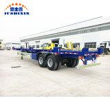 Haut de la vente de l'essieu Port 2bombe Panier terminal conteneur semi remorque de camion châssis tracteur