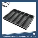 Cinq canaux noir de haute qualité sous forme de pain en silicone