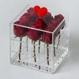 Hoher Grad-Quadrat-schöne Rosen-Blumen-Kasten-Blumen-verpackenkasten