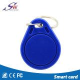 Keychain plástico carda o cartão do cartão Tk4100 Em4305 T5577 RFID do Em de RFID