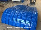 ラインを形作る屋根のパネルロールを曲げる鉄