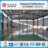 Edificio de dos pisos de la estructura de acero del almacén de la estructura de acero del diseño de la construcción
