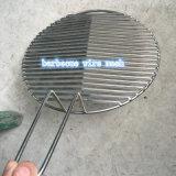Malha de arame para churrasco em aço inoxidável