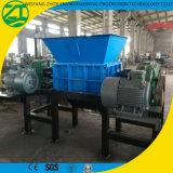 Trituradora de doble eje de plástico barril / Tubería / colchón / sofá y tubo Stock