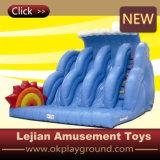 Le Château de haute qualité pour les enfants jouant Diapositive gonflable avec certificat