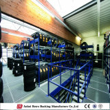 Metal Warehouse Storage Mezzanine Floor Tire Rack