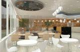 가득 차있는 Package Solution Restaurant Table 및 Chair Furniture (FOH-BCS01)