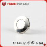 Nouveau 12mm de diamètre plus petit Spst momentané de commutateur à bouton poussoir métallique