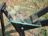 Flacher oder runder oder abgeschrägter Rand, der klar Gleitbetriebs-ausgeglichenes Glas für Dusche, Möbel, Dekoration poliert