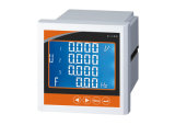 120*120mm 3 삼상 디지털 다중 기능 전력 미터 Withlcd 스크린 전시
