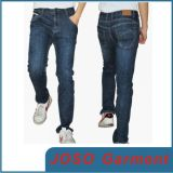 Hommes Indigo Straight Leg Jeans (JC3024)