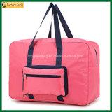 カスタム多彩な100%年のポリエステル肩のFoldable折りたたみ旅行袋