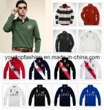 Fashion Men's Polo Shirt à manches longues, robe Shirt pour hommes, Men's Tshirt coton