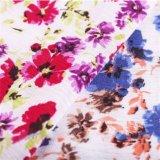 Tissu antistatique avec motif de fleurs pour les femmes Vêtement