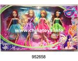 소녀 꼬마요정 인형 단단한 합동 Winx 인형 (952659)를 위한 새로운 플라스틱 장난감