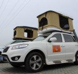 Schwarzes Shell-kakifarbiges Gewebe-Dach-Oberseite-Zelt für SUV Auto