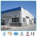 Plans pré conçus de construction d'entrepôt de structure métallique préfabriqués