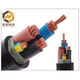 Kabel van de Macht van het Type van Voltage van de Isolatie van pvc de Materiële en Middelgrote