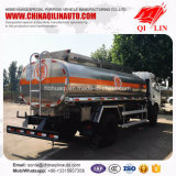 Dongfeng 4*2 citerne du camion de ravitaillement en carburant du pétrole avec l'échelle arrière