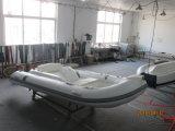 Barca gonfiabile della nervatura della vetroresina di Liya 14FT piccola con il motore (LY430)