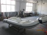 Liya 14FT Fiberglas-Rippen-kleines aufblasbares Boot mit Motor (LY430)