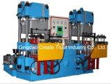 Machine de pressage hydraulique 100t pour silicone en caoutchouc / Machine de pressage automatique de vulcanisation complète pour produits en caoutchouc