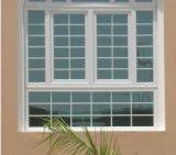 緩和されたガラスとのアルミニウム苦境Windows
