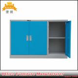 Casier bleu d'acier de Module de meubles de bureau en métal de 3 portes