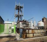 Máquina verde Reciclagem resíduos de óleo 10ton Planta de destilação de óleo