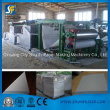 Carton de papier de rebut réutilisé faisant la machine de cadre de machine de papier cartonné avec le certificat de la CE