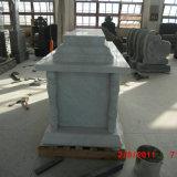 Mausoleum van de Crypt van China het Witte Marmeren Enige