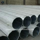 8m pôle du tube en acier galvanisé